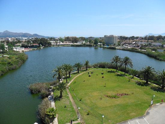 Eix Lagotel: view from room of the lake