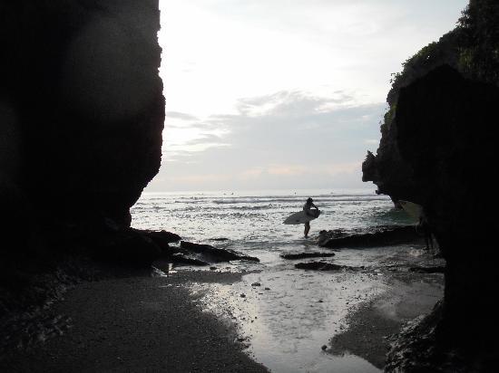 Uluwatu Gecko Inn: if you surf, you'll like uluwatu