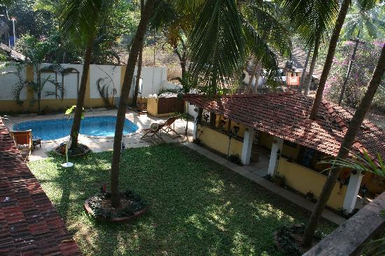 Casa Candolim: View from the varanda