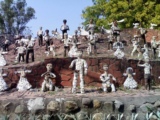 Chandigarh, India: Some Sculptors at Rock Garden