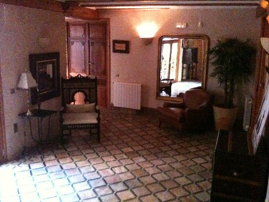 Hotel Casa Babel: Upstairs area