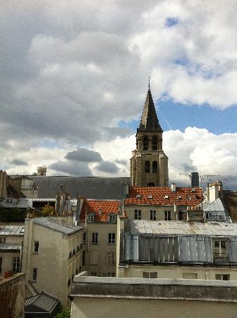 Hotel des Marronniers: Vue de la chambre