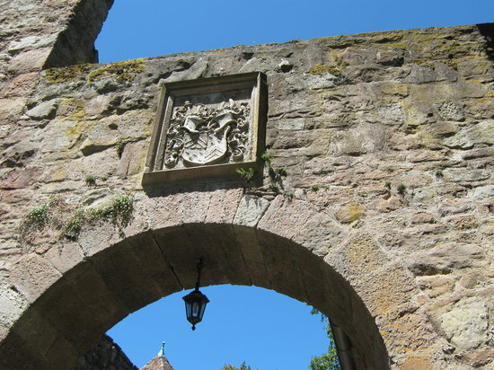 Witzenhausen, Allemagne : Wappen über dem Eingangstor