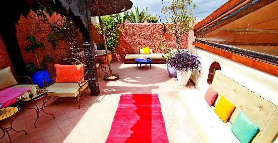 Riad Amiris: sur le toit terrasse