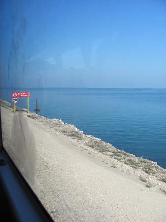 Cuba: Route traversant la mer