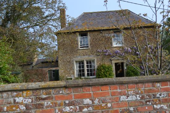 Front of Clanville Manor (Spring)