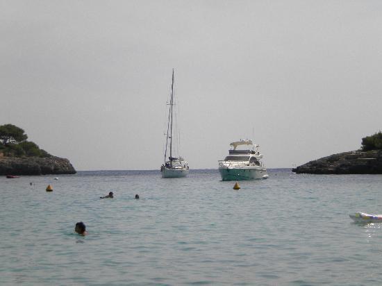 Hotel Antares: boats