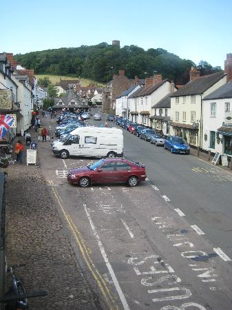 The Dunster Castle Hotel: From room towards Yarn market