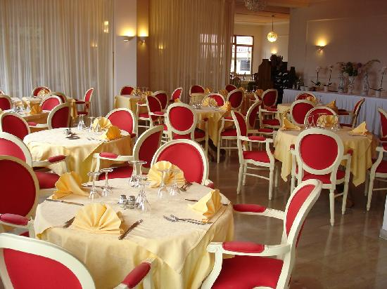Europa Hotel Porlezza : Der wundervolle Speisesaal