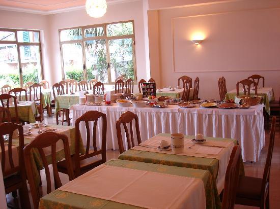 Europa Hotel Porlezza : Frühstücksraum