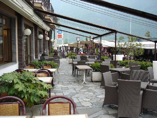 Europa Hotel Porlezza : Hotelterrasse