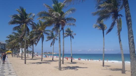 Ipanema Beach: strandblick