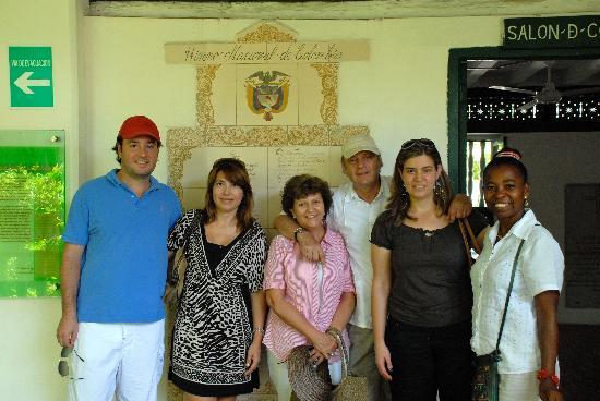 Tour in Cartagena with Marelvy Pena-Hall: En Cartagena con Marelvy Peña Hall