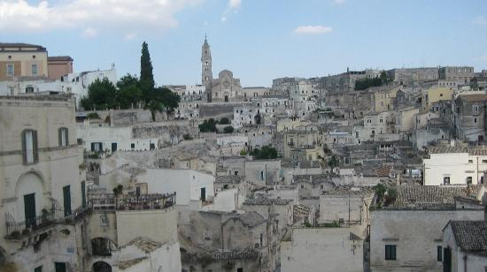 Matera, view from high vantage point