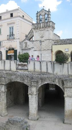 Matera, view from main piazza