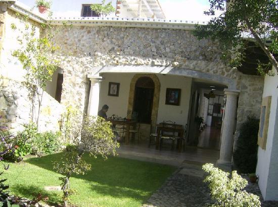 Hotel & Spa Santuario del Alba: Terraza
