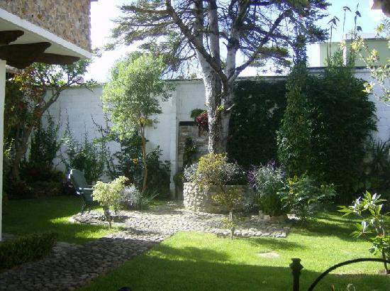 Hotel & Spa Santuario del Alba: Jardín