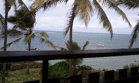 Bahari Beach Hotel: the view from our private balcony
