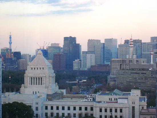 The Capitol Hotel Tokyu : 国会議事堂が、すぐ近くに見える
