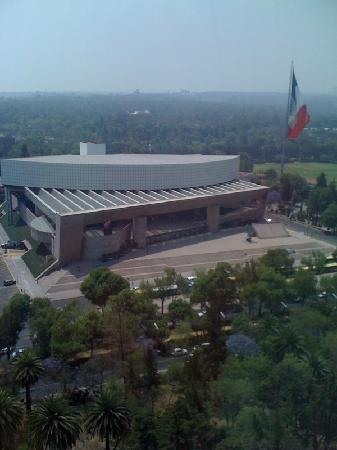 InterContinental Presidente Mexico City: Vista desde habitación a Auditorio Nacional
