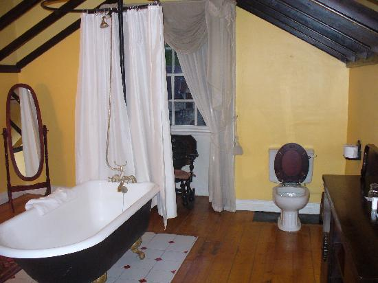 Kinnitty Castle Hotel: Our bathroom