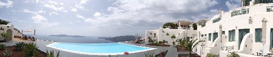 Anastasis Apartments : panorama view