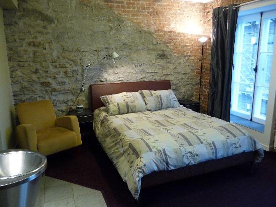 Hotel Le Priori : letto