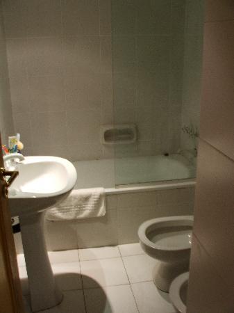 America Plaza Hotel: bagno