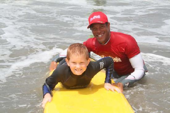 Surfin Fire Surf School: Private Lessons