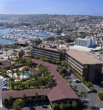 Holiday Inn San Diego-Bayside: Aerial