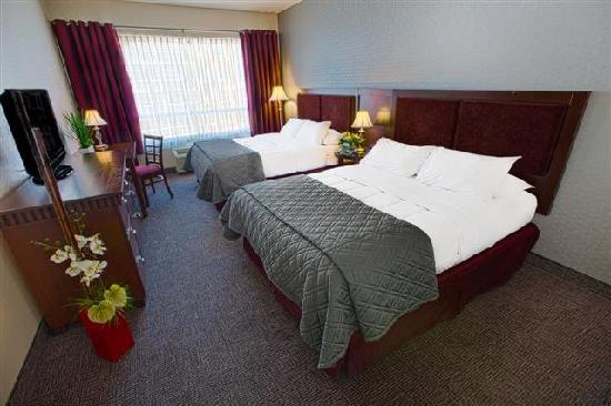 Hotel Universel Quebec: chanbre standard avec 2 lits Queen