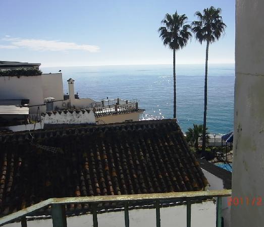 Hostal San Miguel: Top floor terace wiev.