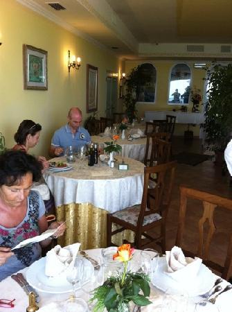 Monte Grimano Terme, İtalya: sala da pranzo