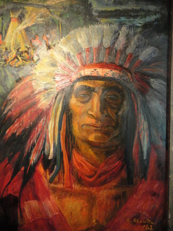 Frisco Native American Museum: Painting