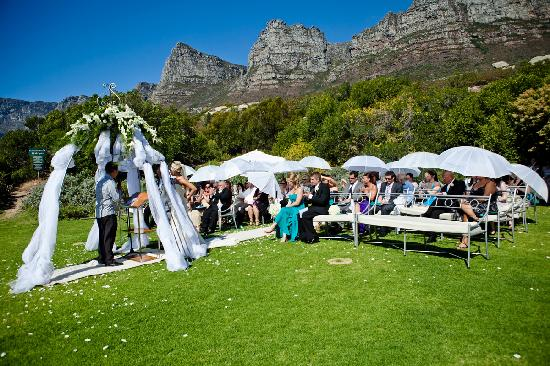 The Twelve Apostles Hotel and Spa : The ceremony