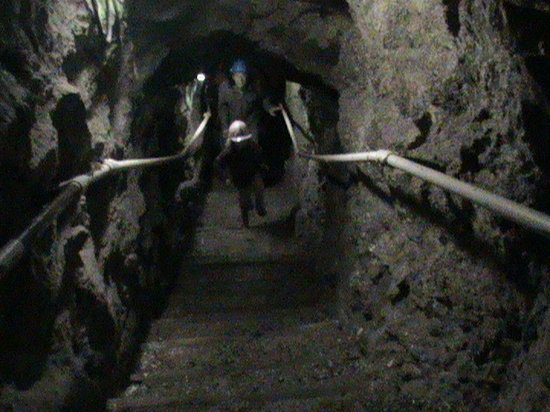 Poldark Mine : Steep Stairs
