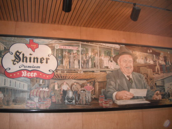 Shiner, TX: Picture in gift shop