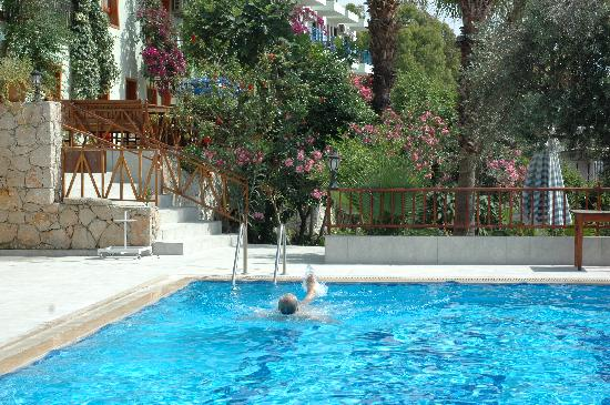 St. Nicholas Pension: Pool at the Delfin Hotel