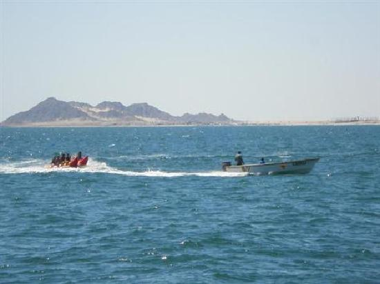 Puerto Peñasco, México: The KIds loved the Banana Boat Ride