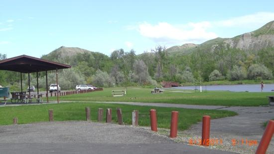 Riverfront Park: one of many picnic areas