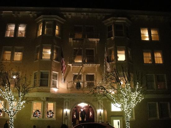 Hotel Drisco: Drisco in December