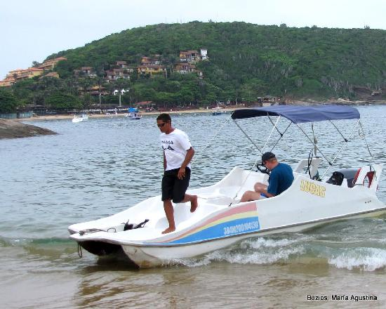 Armacao dos Buzios, RJ: Aquataxi en Joao Fernandes