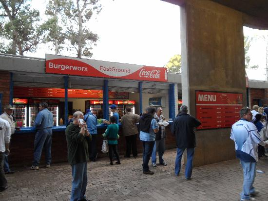 Loftus Versfeld Stadium: Grab a bite to eat