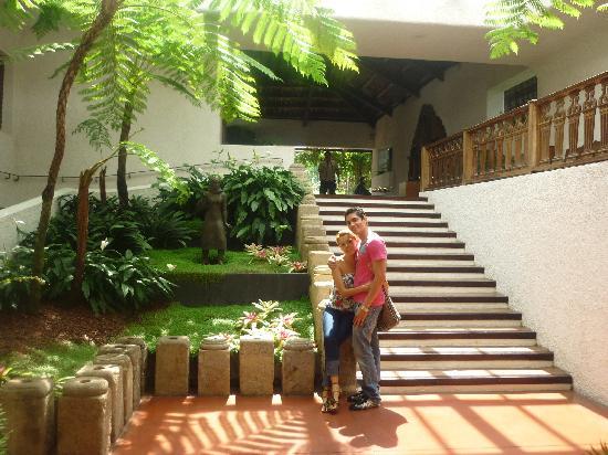 Casa Santo Domingo: El interior del hotel