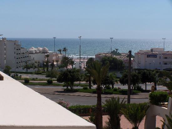 Hotel Timoulay & Spa Agadir : Une superbe vue sur mer