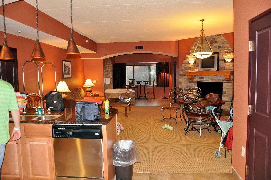 Condo Kitchen Picture Of Chula Vista Resort Wisconsin