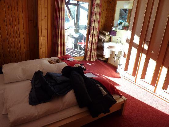 Hotel Restorant Lej da Staz: unser Zimmer