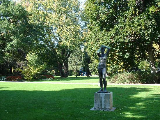 Oskar-Reinhart Foundation Museum: Der Museumsbesuch lässt sich mit einem Gang durch den Stadtgarten verbinden