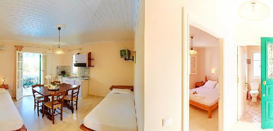 Alkyon Apartments & Villas Hotel - Room view