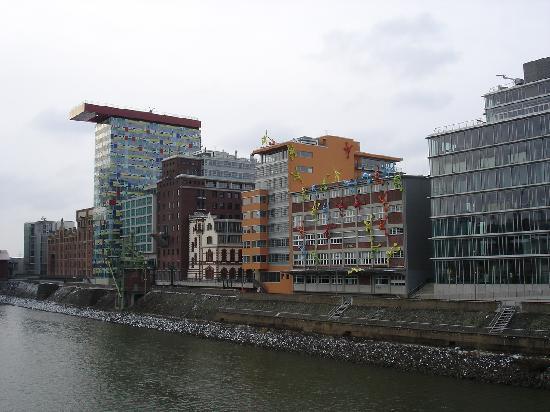 Düsseldorf, Allemagne : Hafenviertel